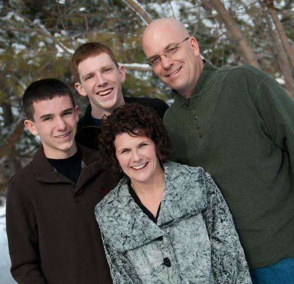 Photo of owner and operator, Jill Moline and family
